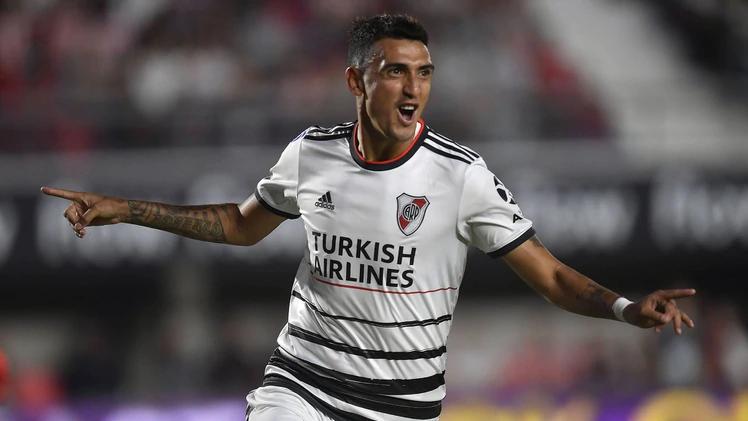 Matías Suárez vuelve a quedarse afuera del once inicial de River.