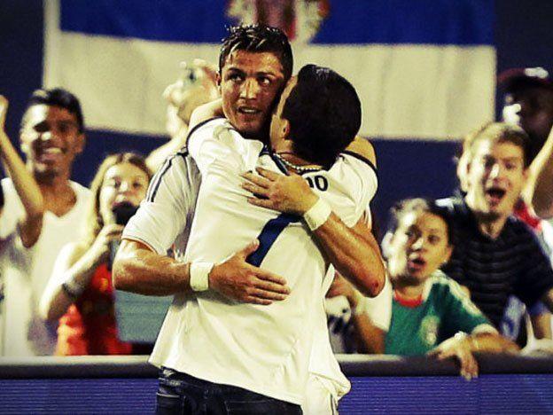 Estuvo dos días detenido por abrazar a Cristiano Ronaldo en pleno partido