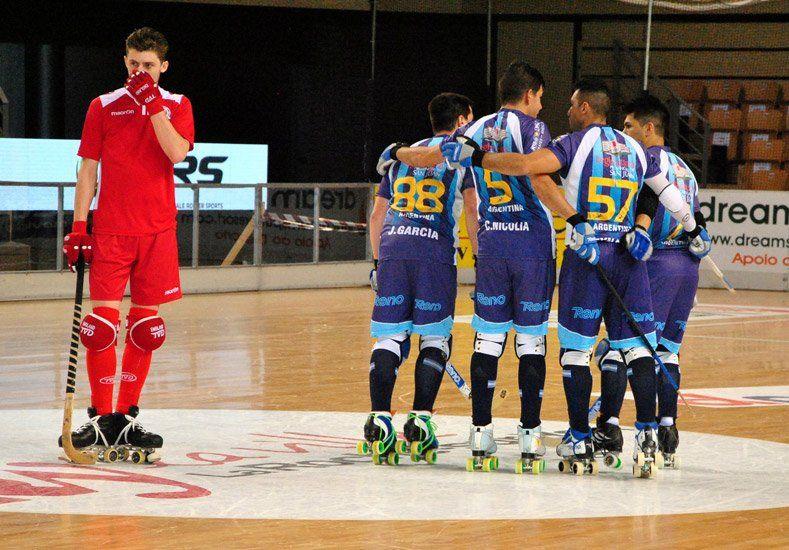 Argentina arrasó con Inglaterra en la segunda presentación en el Mundial de hockey en Francia