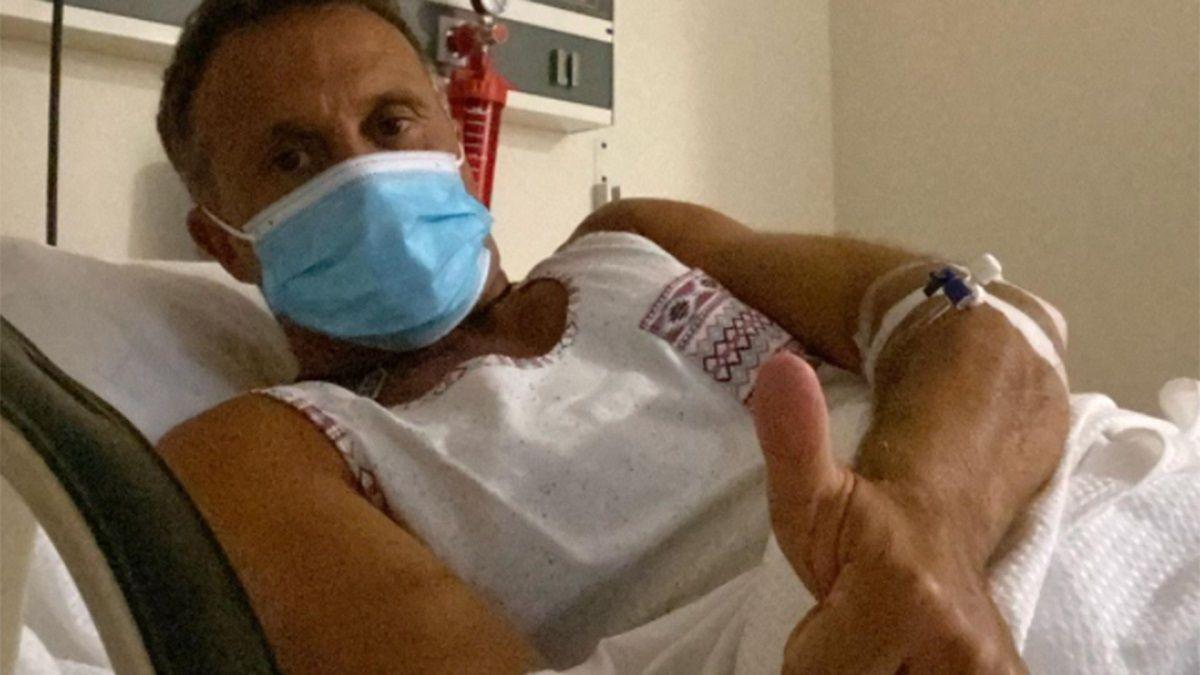 Lapegüe regresó a la televisión tras vencer al coronavirus