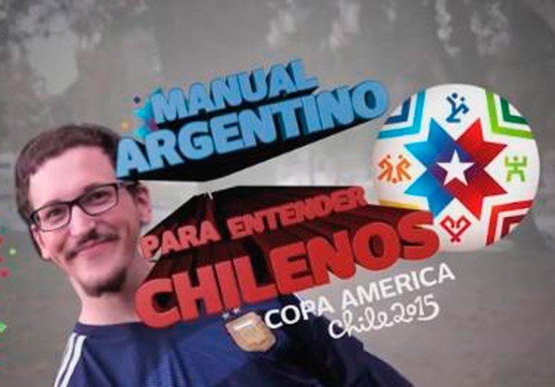 Mirá el manual para que argentinos entiendan a los chilenos en esta Copa América