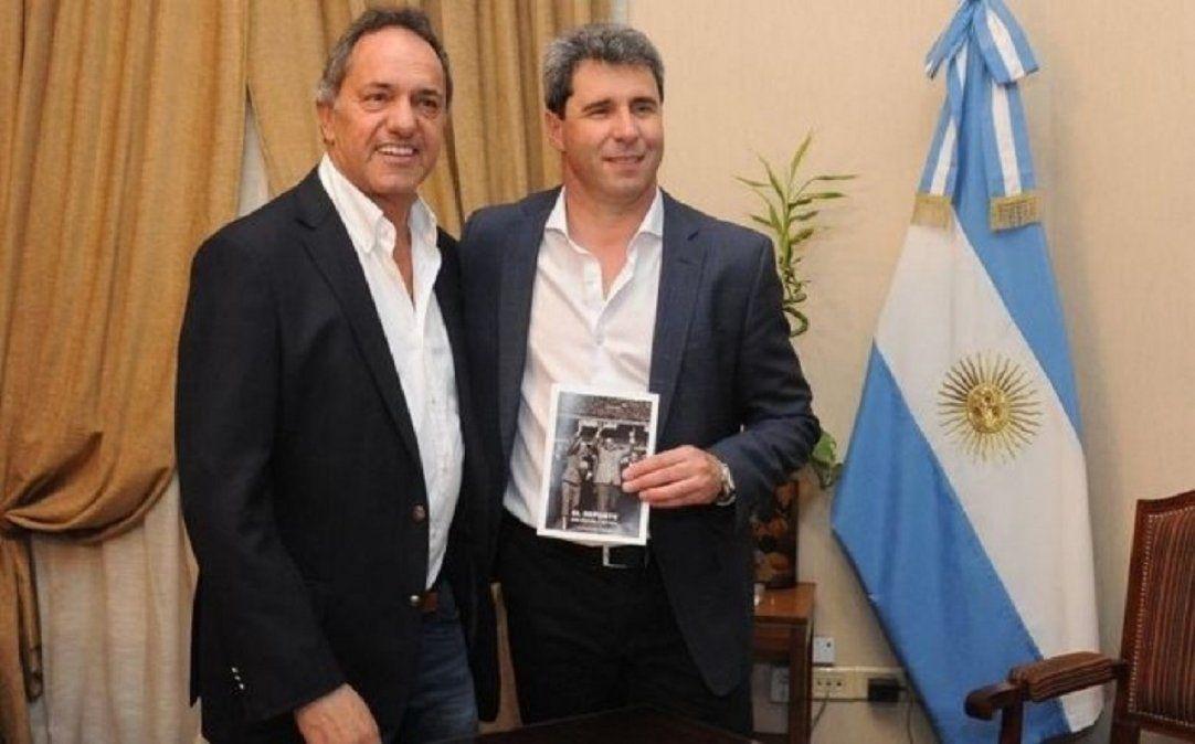 El gobernador Sergio Uñac formó parte de las negociaciones encabezadas por Daniel Scioli.