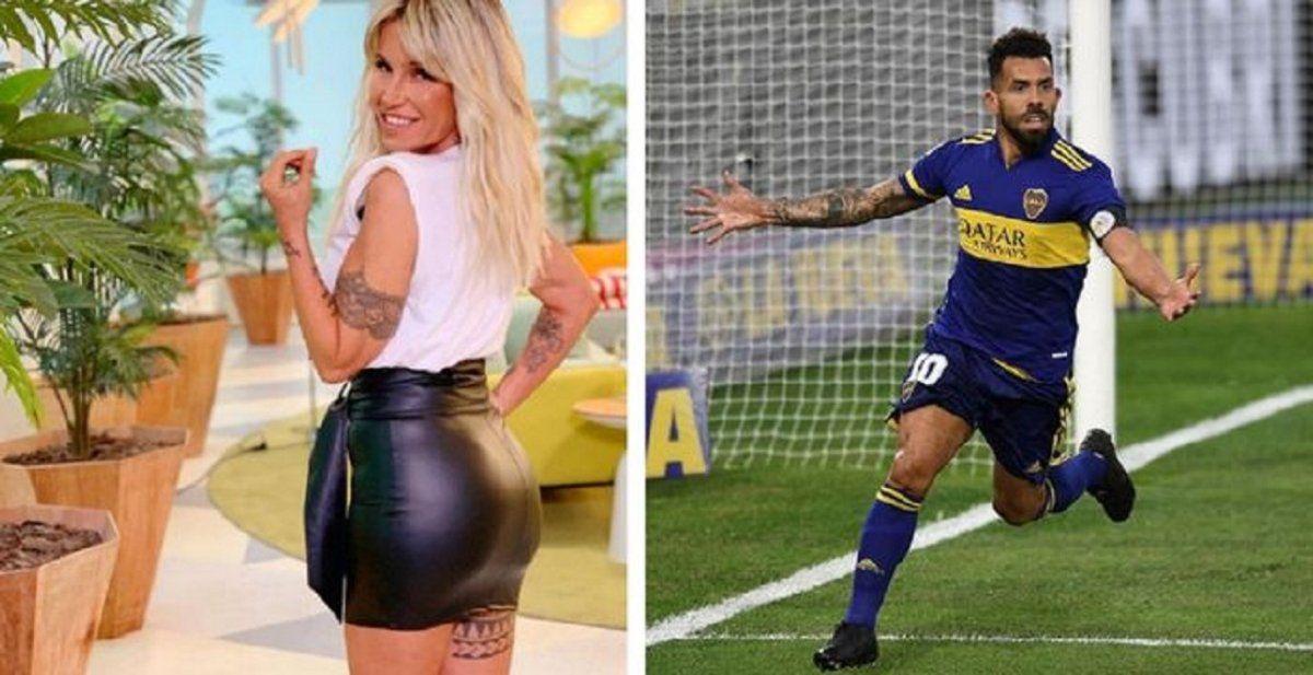 Florencia Peña apuntó directo contra Carlos Tevez