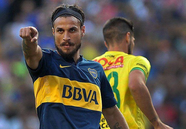 Osvaldo dejó la práctica y se acerca su final con la camiseta de Boca