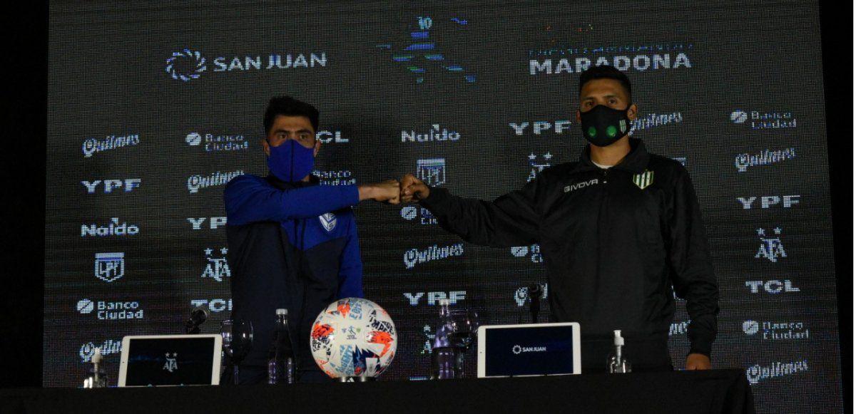 Vélez y Banfield jugarán en el Bicentenario para definir el pasaje a la Copa Sudamericana.