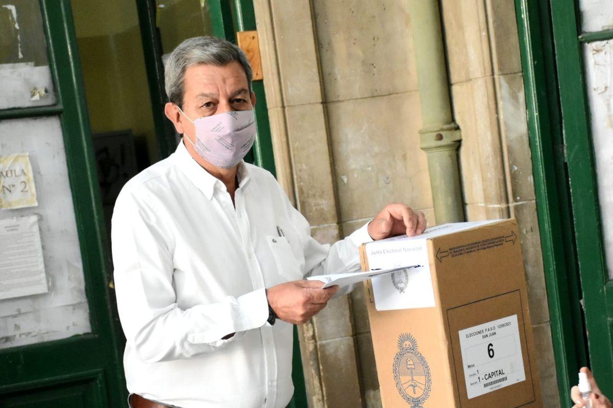 Gattoni, en las urnas: Es un muy buen día para votar