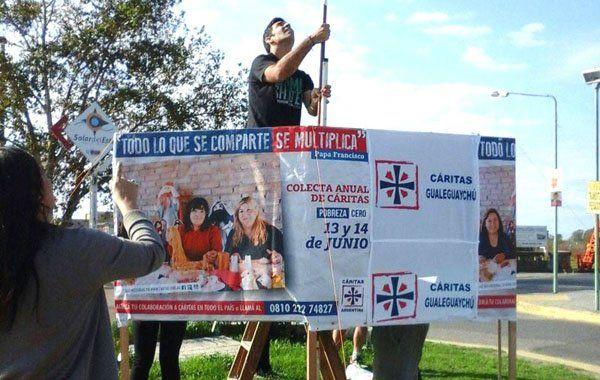 La colecta de Cáritas continúa y se puede donar toda la semana en las parroquias
