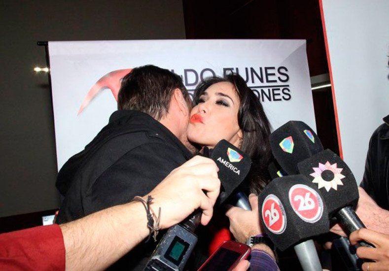 Sabrina Ravelli y Matías Alé tuvieron un tenso encuentro