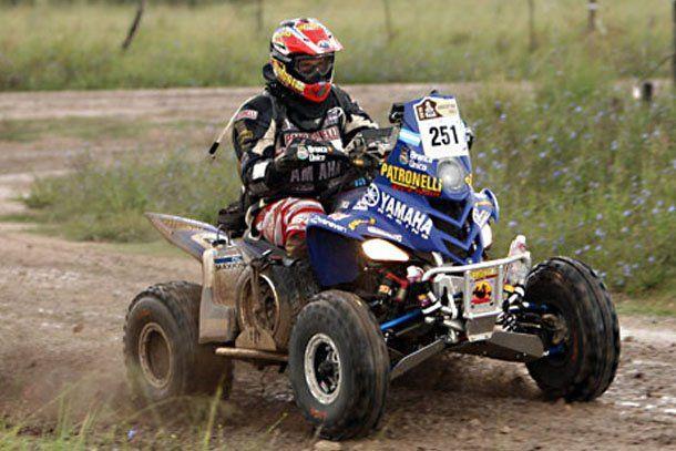 Marcos Patronelli abandonó el Dakar