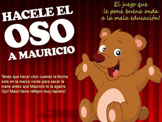 Hacele oso a Macri, el juego furor en Internet después del amague del fiscal