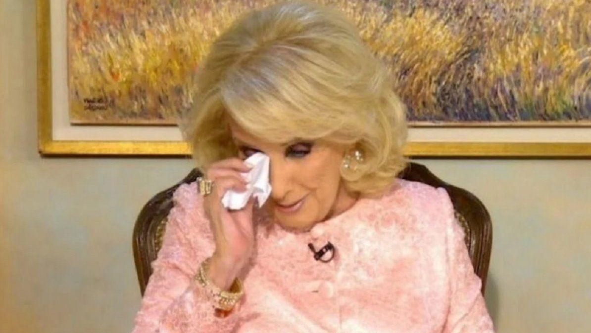 Mirtha recordó a Goldy