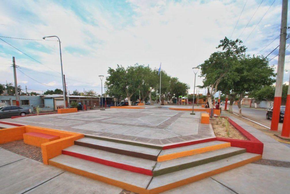 La plaza del Barrio Laprida quedó totalmente renovada