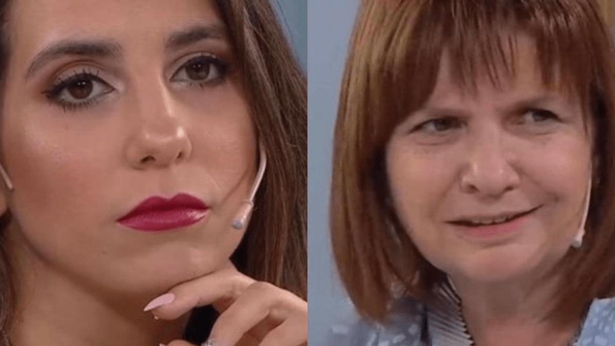 El sorprendente cruce entre Cinthia Fernández y Bullrich que se hizo viral