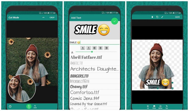 ¿Qué aplicaciones sirven para hacer stickers de Whatsapp?