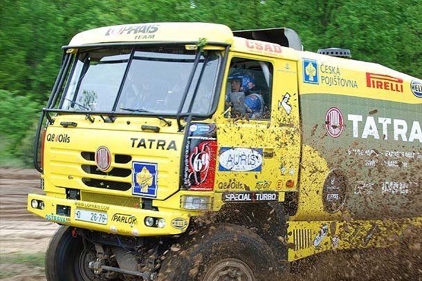 Dakar: en camiones Ales Loprais ganó en la séptima etapa