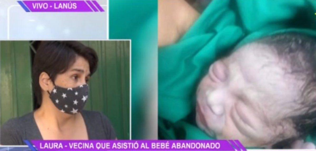 Abandonaron a un bebé en una bolsa de basuray lo encontró un recolector