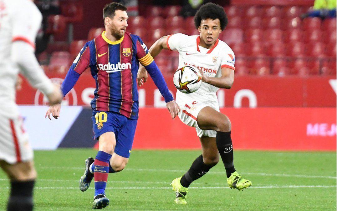 Sevilla dejó al Barsa al borde de la eliminación de la Copa del Rey.