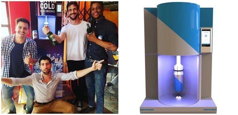 Argentinos crearon un microondas que enfría la cerveza en 30 segundos