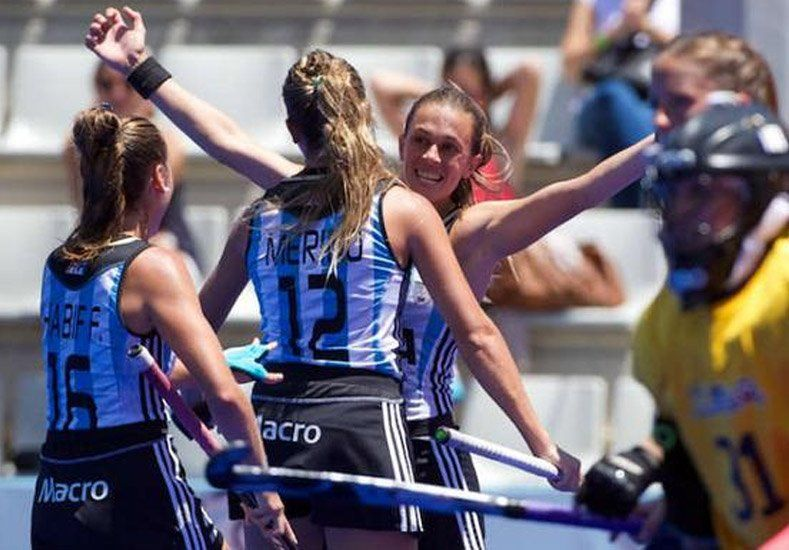 Las Leonas ganaron y quedaron a un paso de clasificar a Río 2016