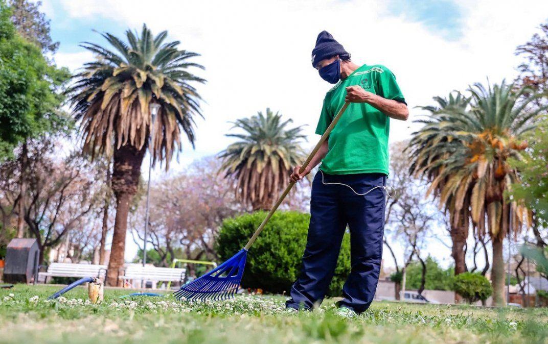 Esta es la planificación semanal de limpieza de Capital