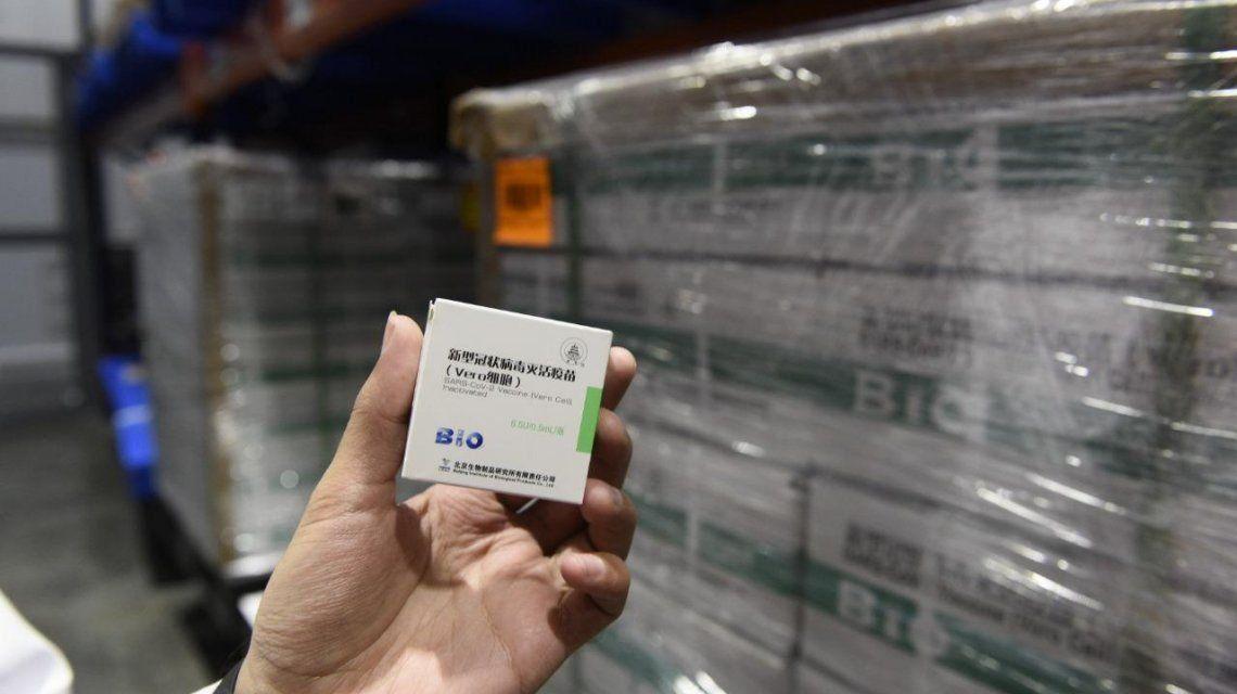 San Juan: se esperan las 7200 nuevas dosis de la vacuna Sinopharm