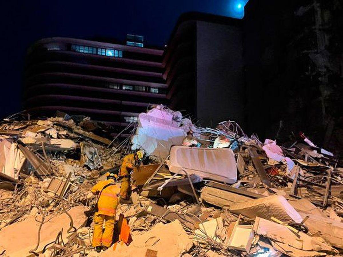 Hay otra víctima argentina y ya son 86 los fallecidos del derrumbe en Miami
