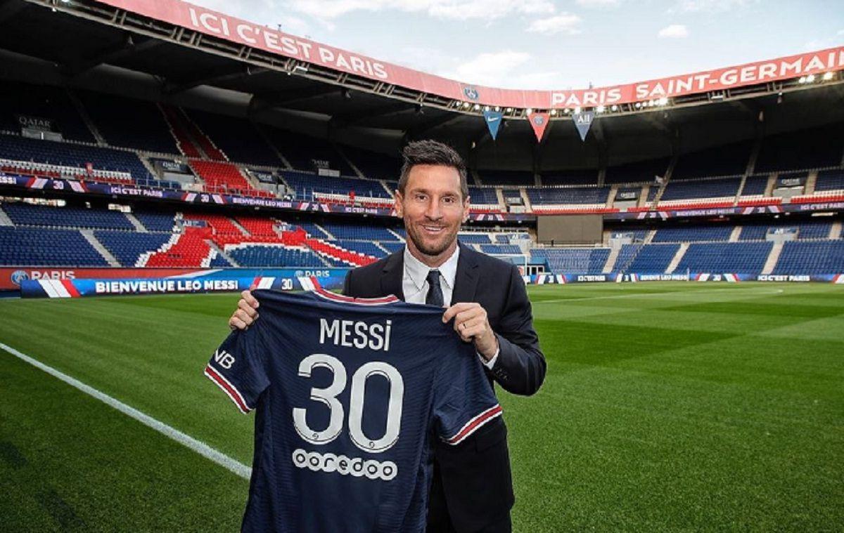 El primer posteo de Messi en Instagram con la camiseta de PSG