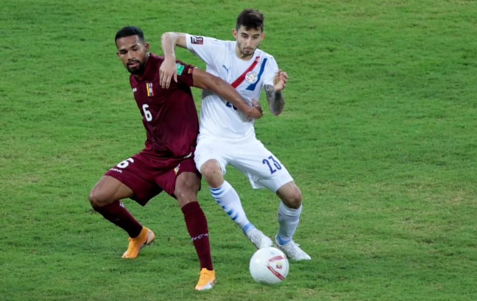 Paraguay ganó en Venezuela y quedó entre los de arriba