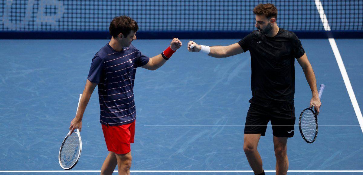 Zeballos y Granollers se quedaron sin final en el Masters de Londres.
