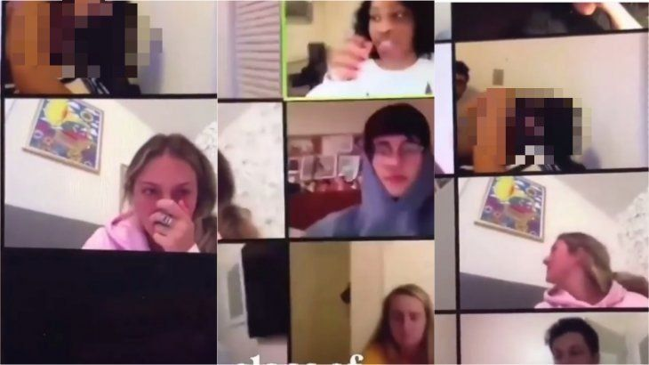 Sexo en la clase virtual: se olvidó de apagar la cámara y la vieron todos