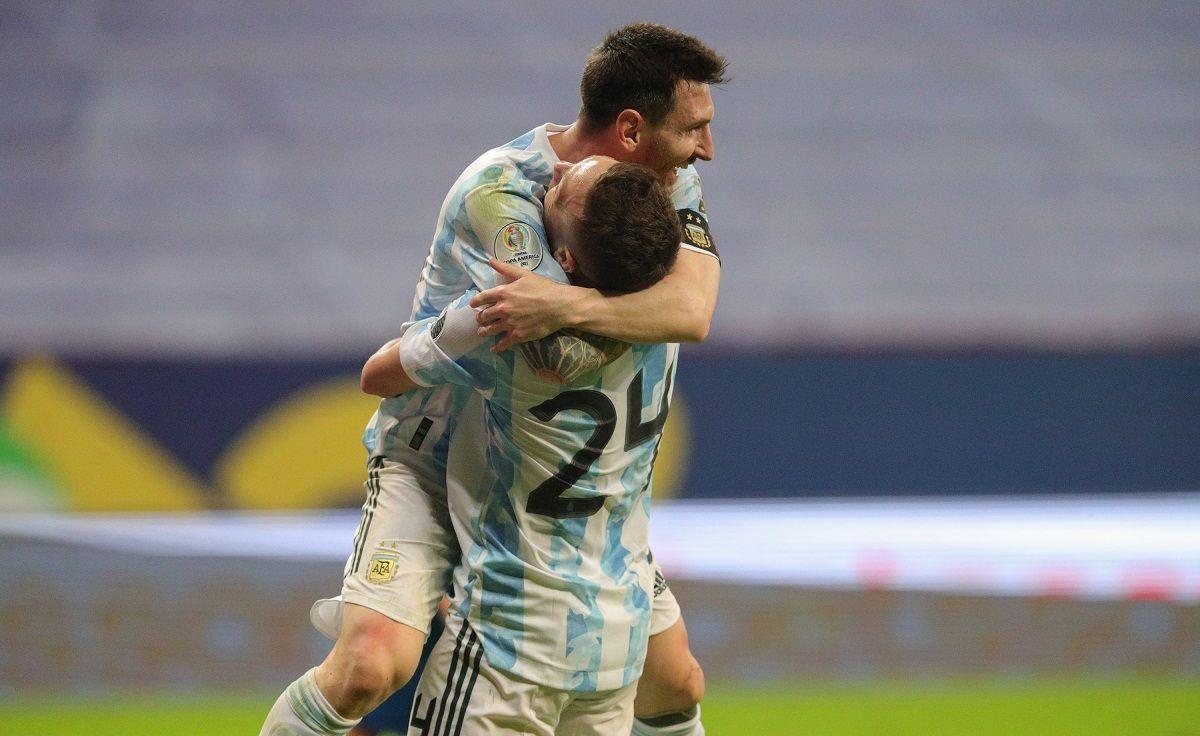 Argentina ganó y pasó a cuartos de final de la Copa América