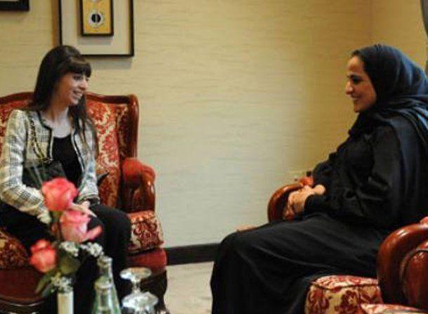 Florencia Kirchner logró sus propios acuerdos en la gira por Medio Oriente