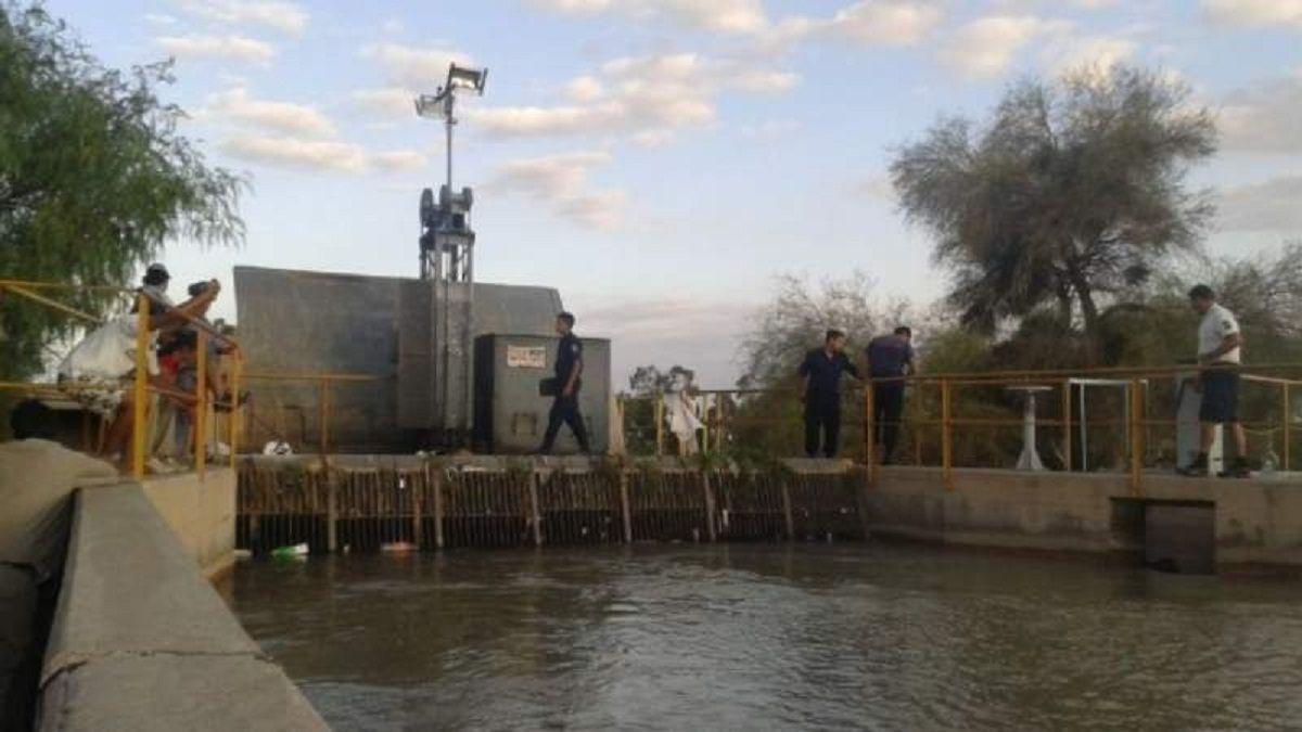 Pocito: hallaron a un hombre muerto en el canal Céspedes (Imagen ilustrativa)