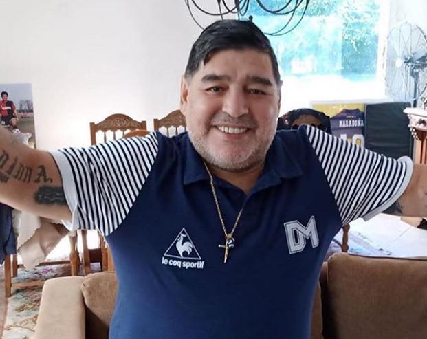 Maradona mostró una evolución y seguirá unos días más en observación