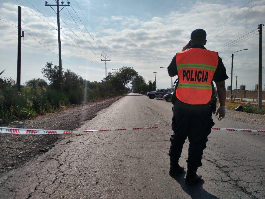 Motociclista murió en Pocito.