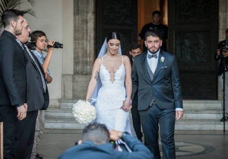 Diego Maradona Jr se casó y tenemos la fotos del evento
