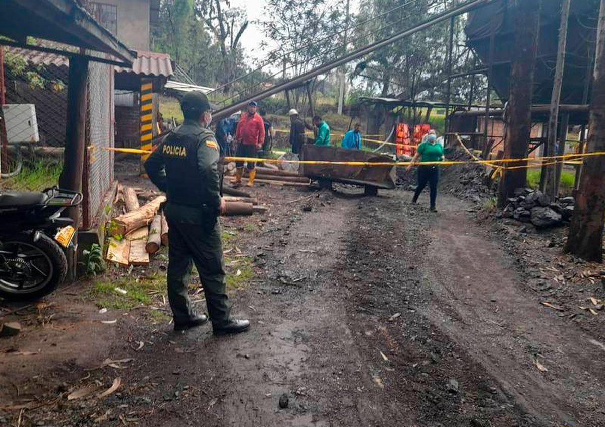 Hubo doce muertos por la explosión en una mina ilegal en Colombia