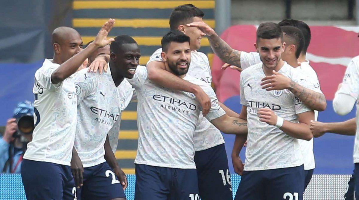 Manchester City ganó con un golazo del Kun Agüero