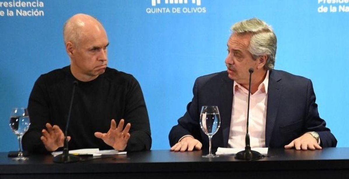 Suspendieron la reunión entre Alberto Fernández y Horacio Rodríguez Larreta