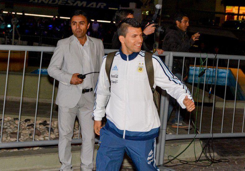 Así fue la llegada de los jugadores de la Selección Argentina a San Juan