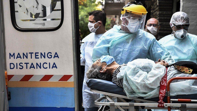 Covid-19: registraron 68 muertes y 6.287 positivos en el país