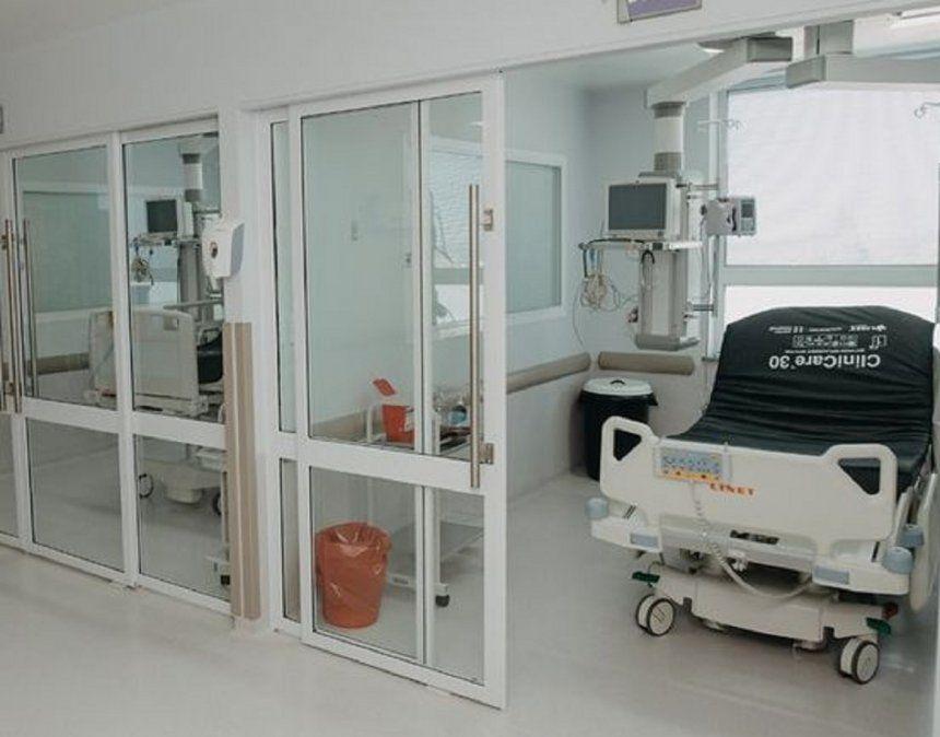Área COVID-19 - Hospital Rawson
