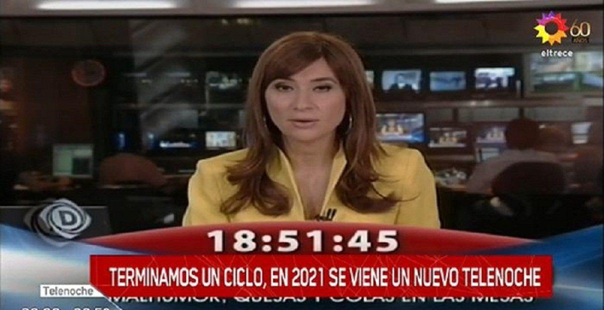 La despedida de Telenoche a María Laura Santillán sin su presencia