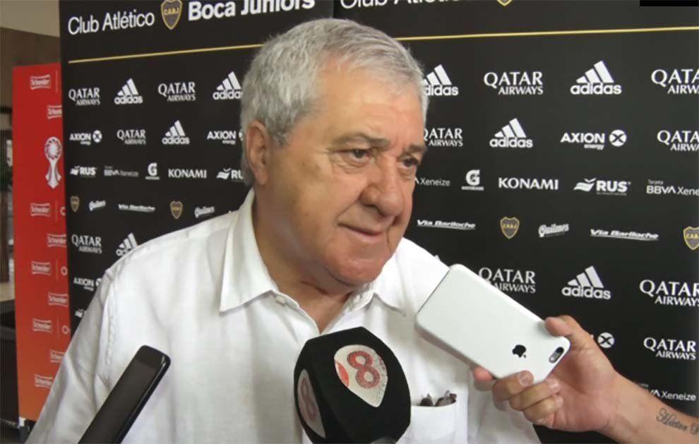 Ameal: Si hubiese sido el presidente de Boca en la vuelta de la final, no se jugaba más
