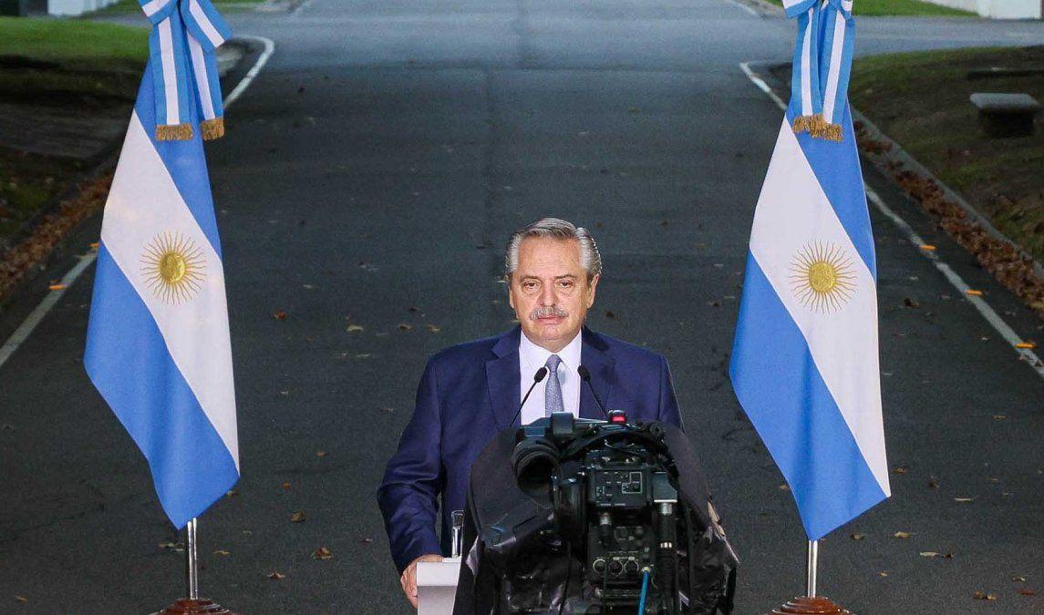 No me importa ganar una elección, me importa que los argentinos no se mueran