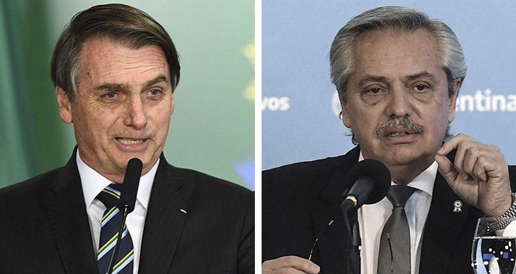 Bolsonaro y Alberto Fernández tendrán un encuentro virtual.