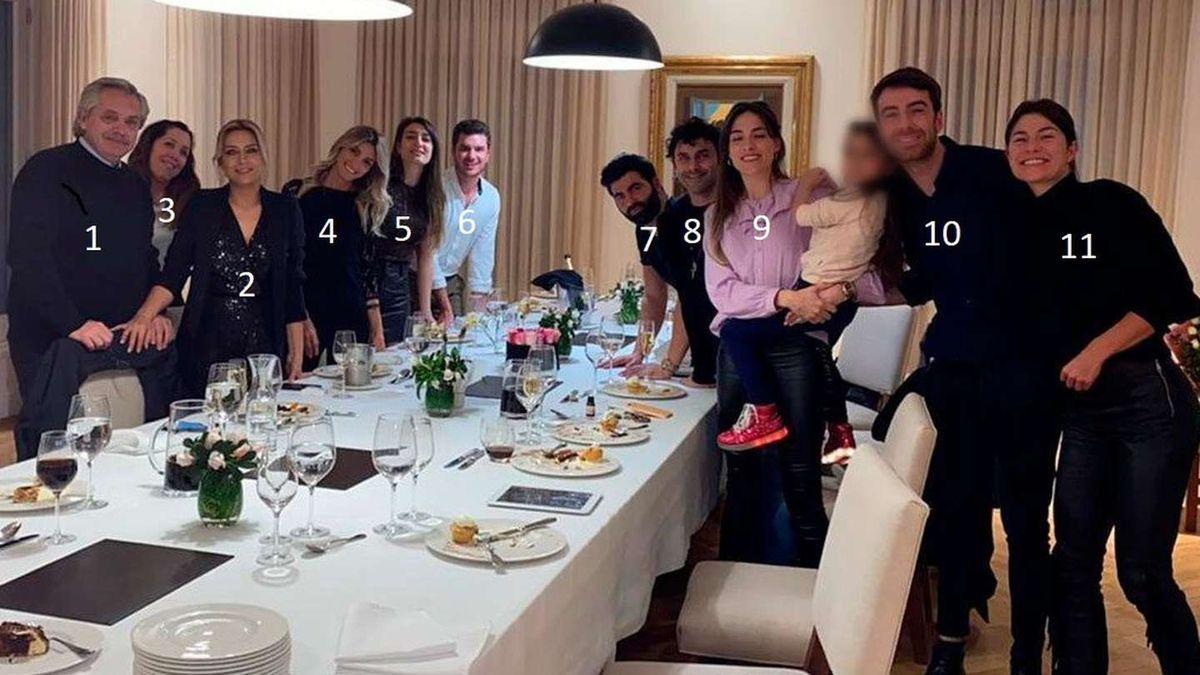 Uno por uno, los invitados del festejo de Fabiola Yañez en plena cuarentena
