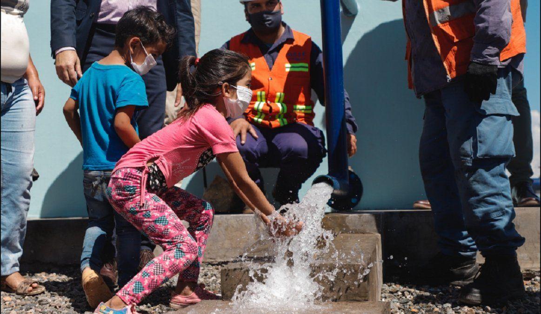 Más de 80 familias de Marayes y La Planta finalmente tienen agua potable