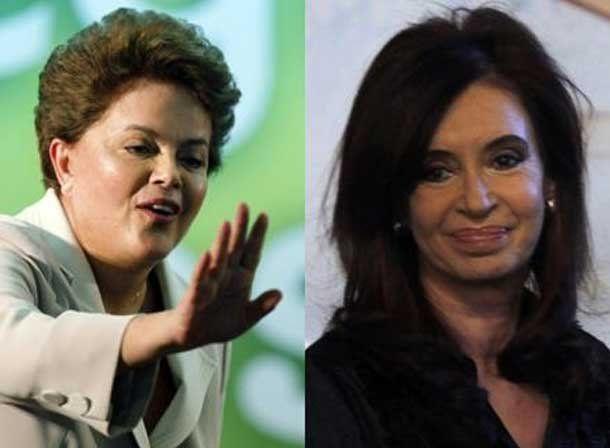 La presidenta repasa la agenda que tratará el lunes con su par de Brasil