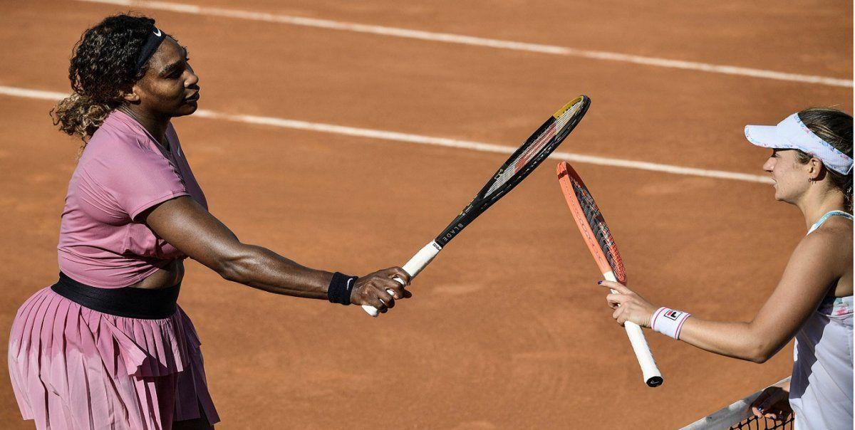 Podoroska derrotó a Serena Williams en el Masters de Roma